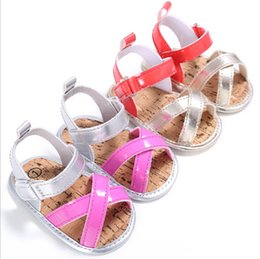 2017 summer baby shoes,soft children sandals,red pink girls toddler shoes, 11 12 13cm infant walker shoes!9pairs 18pcs.SX