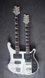 Acheter en ligne Guitare double goulots-Grossiste-Weifang Rebon ricken guitare guitarelectric guitarelectric double cou avec hardcase