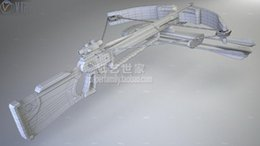 Latas de papel en Línea-El modelo de papel al por mayor 3D Arbalete estalla el arma del perno puede ser handheld Accesorios hechos a mano DIY accesorios decorativos