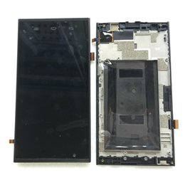Wholesale for Original ZTE ZMAX Z970 LCD Fused Display Screen Touch Screen Digitizer Assembly w Frame Black