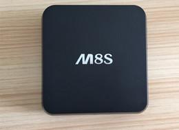 Wholesale 2017 NEW M8S Amlogic S812 A9 Quad Core GB GB MINI PC Stream Android Media Player IPTV Full HD D Films Network Intenet Set Top Box
