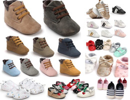 the best gift for baby!6 pairs lot(can mix styles and sizes)Fashion baby shoes Newborn first walkers Comfortable outdoor baby footwear