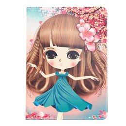 Case for ipad 2 3 4, lightweight and durable cute girl 360 degree protection drop protection case ipad 4 3 2 case
