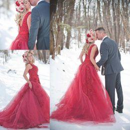 Promotion robe formelle bas dos rouge Robe de soiree Robe de soiree Robe de soiree