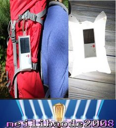 Wholesale 2017 new Product Waterproof Solar Lantern LED Lights V Mah Folding Glow Pillow For Outdoor Camping Use MYY