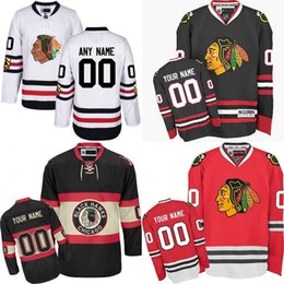 Wholesale 2017 Winter Classic Premier Customize Chicago Blackhawks Jerseys Authentic personalized Hockey Jerseys Any Number Name stitched size S XL
