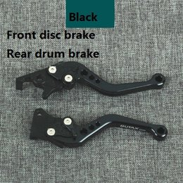 Wholesale New style Motorcycle Brake Lever Scooter Moped Accessories For GY6 Refit Adjustable CNC Disc Drum Hand Brake Color