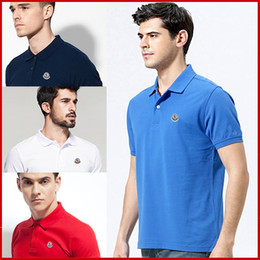 Wholesale 2017 New Fashion French Brand Clothing Spring and Summer Polo Shirt Printed Men s Short Sleeve Lapel Men s Europe and The United States