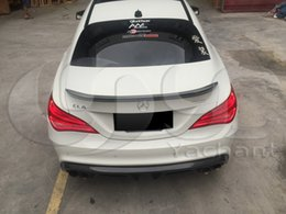 Wholesale Auto Accessories Car Styling Carbon Fiber GD Sports Style Rear Spoiler Fit For MB W117 C117 CLA Class Rear Spoiler