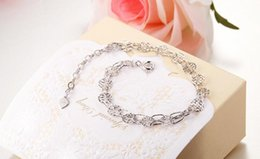 New Hot Sells 10 Style 925 Silver Bracelet Circle of serial Bangle Pulseras Lobster for Beads
