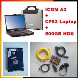 Wholesale 2017 Expert Mode For BMW ICOM A2 b c Rheigold ISTA isid Software CF52 ICOM A2 diagnostic Programming engineer tool