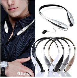 HBS900 HBS-900 Headsets Tone+ Infinim In Ear Neckbands Wireless Stereo Earphones Bluetooth Sport Headphone for LG Apple Iphone 7 Samsung S8