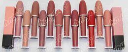 Free Shipping dhl New Makeup Lips Lustre Lip Gloss Matte Lipstick!4.5g