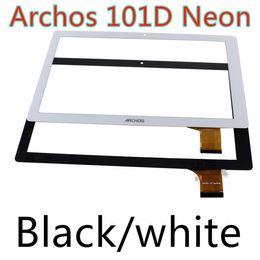 Wholesale Black white for Archos d Neon tablet pc quot Inch touch screen panel digitizer glass sensor replacement Magnus