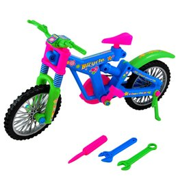 Wholesale D Puzzles Plastic DIY Handmade Simulation Removable Bicycle DIY Assembly Bike Educational Toys