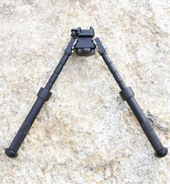 Wholesale CNC Making BT10 LW17 V8 Atlas degrees Adjustable Precision Bipod With QD Mount With Markings For Hunting