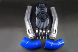 Wholesale 76mm INCH AIR INTAKE PIPE KIT FOR NISSAN GTR R35