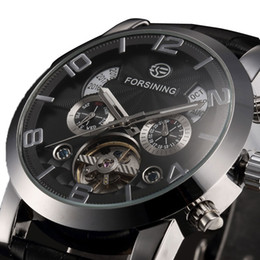 Wholesale Hot Sale Forsining Mechanical Watch Men Business Watches Male High Quality Clock Gift for Mens