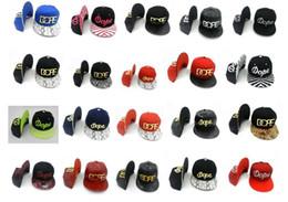 Livraison gratuite 2017 nouveaux chapeaux de sport de chapeau de base-ball de Hip Hop de Snapback pour les hommes chapeaux ajustables de dope de concepteur d'hommes Mode d'été d'Snapbacks d'Hiphop à partir de casquettes concepteur de chapeau fabricateur