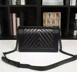 Free delivery Europe 2017 women bag designer brand handbag Genuine Leather women's handbags fashion Lady Chain bags 1:1 imitation brands