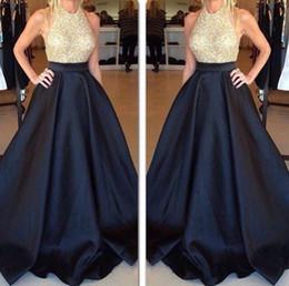 Купить черную атласную юбку