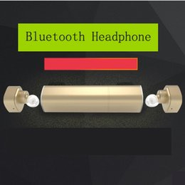 Wholesale Mini Twins True Bluetooth Headphones Wireless Earbuds with mA mA Charging Socket Power Bank In Ear Stereo Headset New Design