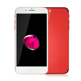 8gb tactile en Ligne-Red Goophone i7 Plus V3 1: 1 Clone Touch ID 3G WCDMA Quad Core MTK6580 1 Go 8 Go + 32 Go Scanner d'empreinte Android 6.0 13,0MP Caméra Smartphone