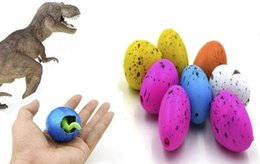 magic growing toys prices - Wholesale Inflatable Magic Hatching Dinosaur Add Water Growing Dino Eggs Child Kid Toy 60pcs box free shipping