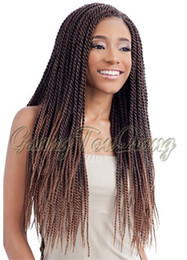 Wholesale 7 Colours strands each pack gram havana mambo twist crochet inch ombre senegalese twist hair crochet jumbo ombre braid hair twist