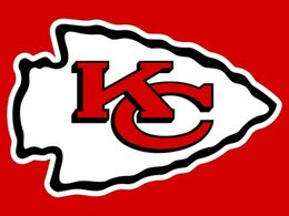 Wholesale KC Chiefs US flag with stars and stripes x5 FT Sport Team KC Banner Material Polyester WinCraft