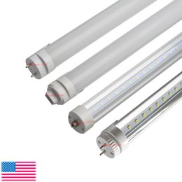 8FT led t8 tube Lights 45W R17D FA8 single pin G13 Rotating LED Tubes Light Bulbs SMD 2835 LED Fluorescent Tube Lamps AC85-265V