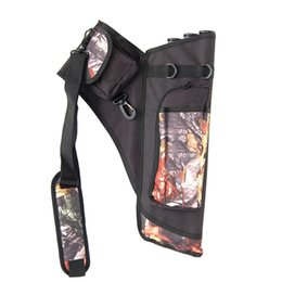 Wholesale Waterproof Holder Youth Tube Arrows Bag with Adjustable Tape Archery Quiver