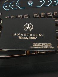 Wholesale High quality Anastasia BEVERLY HILLS Beauty Express eye shadow eyebrow eyebrow brush eyebrow card