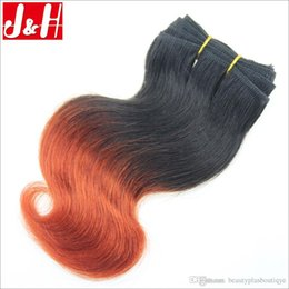 6Pcs lot 300g 8A Brazilian Ombre Hair Extensions Body Wave 1B 350 Remy Hair Weaves 2016 Trendy Bob Short Hairstyle for African Women