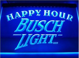 Wholesale Busch Light Beer Happy Hour Bar Beer pub club d signs LED Neon Sign