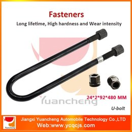 Wholesale China Supplier Automotive Screws Round U bolt with Customizable Sizes Fasteners Manufacturers