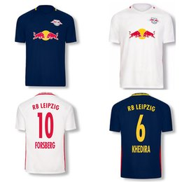Wholesale 2016 RB Leipzig Soccer Jersey Home Away shirts Best Quality FORSBERG KHEDIRA Leipzig e V Club football shirts