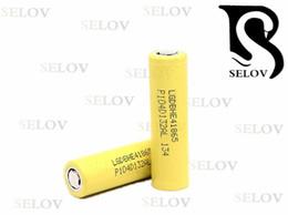 Wholesaler Hot Sale Original lg 18650 lgDB HE4 35a rechargeable 2500mah 18650 lifepo4 flat top battery