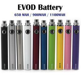 EVOD Battery 650mah 900mah 1100mah Electronic Cigarettes Battery for MT3 Atomizer CE4 CE5 CE6 Electronic Cigarette Ego t Kit