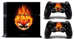 FIRE ELVES GHOST SONY PS4 DECAL PROTECTIVE STICKER for SONY PS4 CONSOLE CONTROLLER
