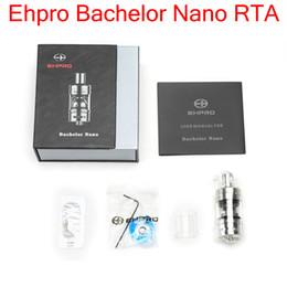 Billow v2 en Ligne-Vente en gros Authentique Ehpro Licence Nano RTA Atomzier 2ml E-jus Capacité Rebuildabale Haut Remplissage E-cig Atomiseur Vs Ehpro Billow V2 nano