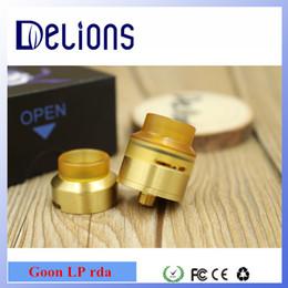 Wholesale high quality new design alliance fat boy rda apocalypse rda Copper contact pin Goon LP in stock