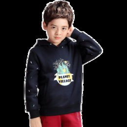 Wholesale A Royal Bay City children s winter jacket children s new wave of children in children s sweater hooded coat