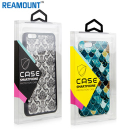 Wholesale PVC plastic packaging box for cell phone case for iPhone 7 7 Plus mobile phone case packaging box