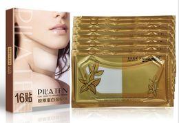 2017 libre pc PILATEN 16 pcs masque de cou Hydratant blanchissant soin de la peau masque de cou DHL pour l'expédition gratuite LLFA libre pc à vendre