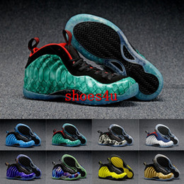 Wholesale With Box Newest Air Penny Hardaway Foam One Olympic USA Men Foams Basketball Shoes Trainer Sneakers High Quality Sport Shoes Size