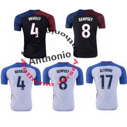 Wholesale USA Thailand Quality BRADLEY DEMPSEY ALTIDORE soccer jerseys uniforms Football Jerseys shirt Embroidery Logo camiseta futbol