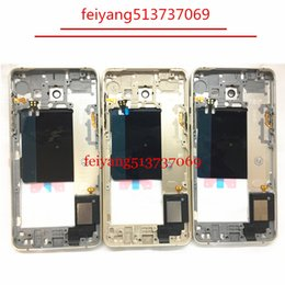 10pcs Original Metal Middle Bezel Frame Case for Samsung Galaxy A5 2016 A510 Housing with Small Parts