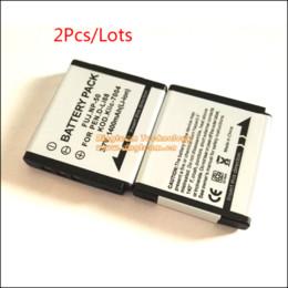 Baterías de la cámara digital de fuji en Línea-Batería de 2Pcs / Lot Digital para K7004 KLIC-7004 para Fuji NP-50 para Pentax D-Li68 Fatima Fujifilm X10 X20 XP100 Cámaras XP150 F50 F60