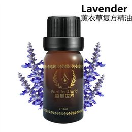 Wholesale Brand New ml Pure Essential Oils French Lavender for Aromatherapy Spa Massage Bath Acne Scar Repair